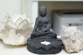 Skulptur zur Behandlung von Angst vor dem Zahnarzt