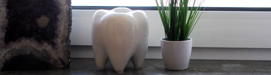 Darstellung natürlicher Zahngesundheit